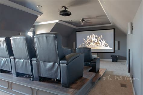 home theater final reveal  hall