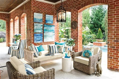 ballard designs patio furniture sunday porch swing traditional patio atlanta by