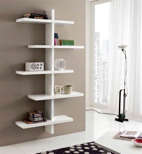 Mensole Bianche Lucide Libreria Mensole A Parete Lucida Moderna Design Salotto