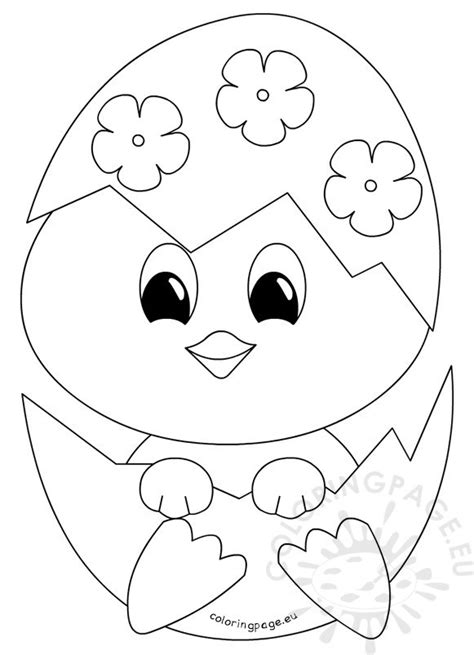 coloring pages of a baby chick easter coloring page baby chick coloring page