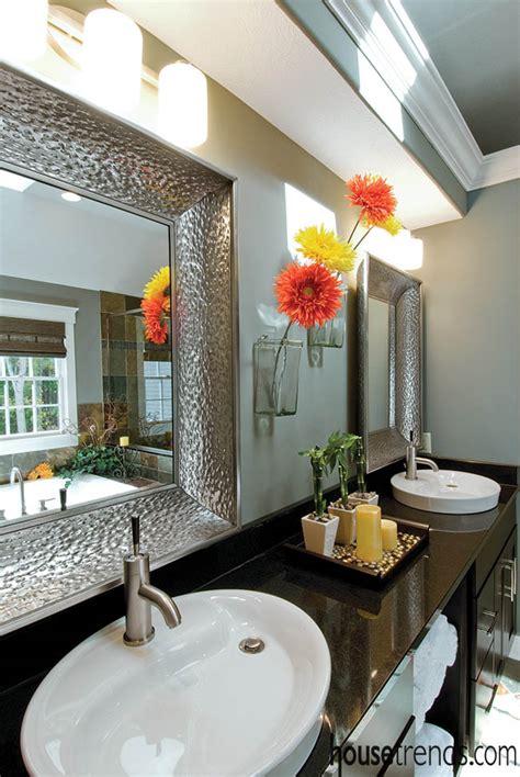 Master bathroom design combines Zen and comfort