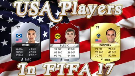 christian pulisic in fifa 17 christian pulisic official rating in fifa 17 ultimate team