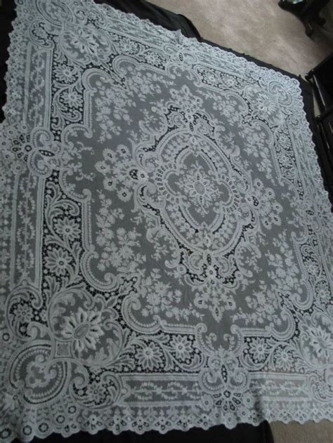 lace bedspreads and curtains gorgeous antique tambour net lace bedspread curtain