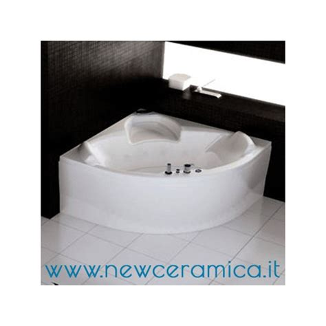 vasca idromassaggio angolare 140x140 vasca angolare 140x140 con idromassaggio evo grandform