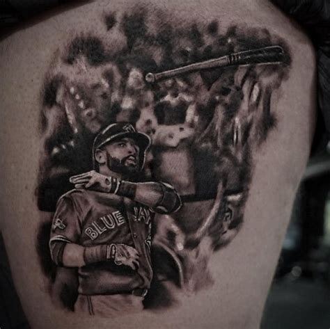 toronto tattoo artist immortalizes jose bautista bat flip