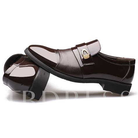 Low Heel Oxfords patchwork square low heel slip on s oxfords tbdress