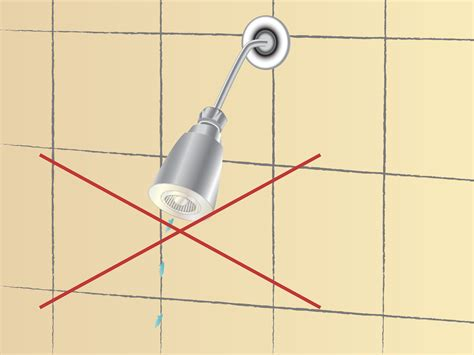 bathroom leak how to fix a leaky shower faucet 11 steps with pictures