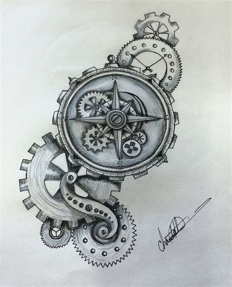 tattoo gears design best 25 gear ideas on steunk