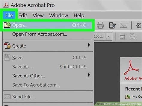 reduce size pdf zip 3 ways to compress a pdf file wikihow
