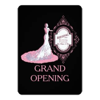 Wedding Announcement Dresses by Wedding Dress Shopping Invitations Announcements Zazzle