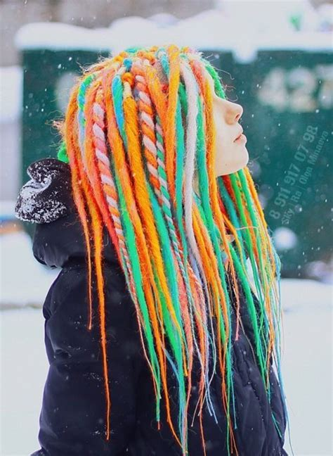 dread colors dreadlocks dreads photography image 499650 on