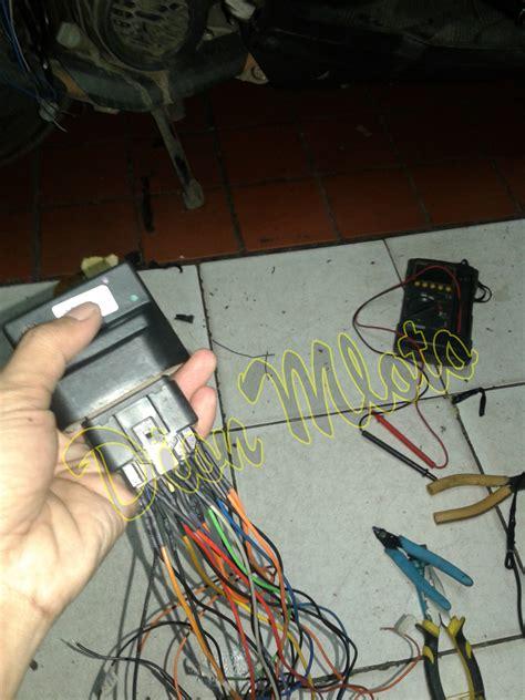 memperbaiki kabel ecu mio soul gt di makan tikus kabel ecu