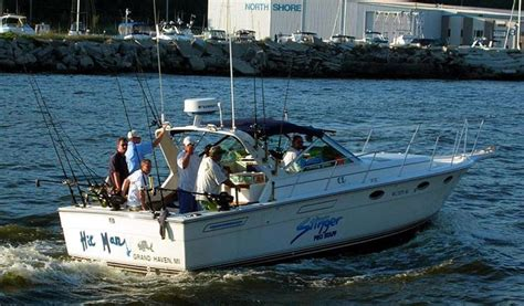 charter boat fishing grand haven grand haven fishing charters michigan