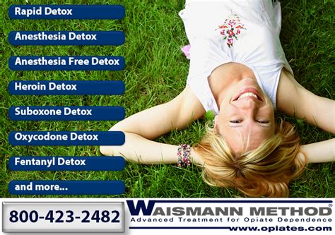 Detoxing With The Waismann Method by Understanding Rapid Detox The Fix