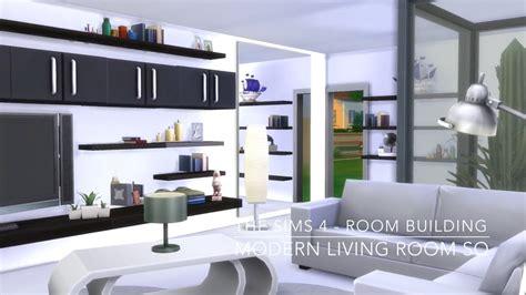 the livingroom the sims 4 room building modern living room sq