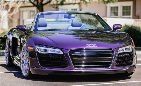 porsche purple audi gallery purple audi r8 spyder on hre wheels