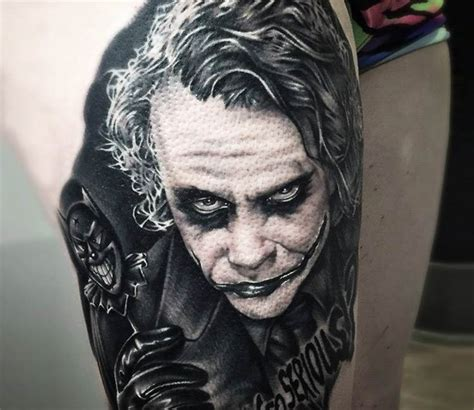 joker tattoo by khan tattoo photo no 18546
