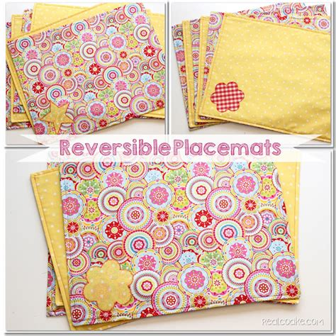 sewing pattern for quilted placemats how to make placemats free pattern and tutorial sewing