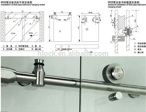Shower Doors Parts And Accessories Stainless Steel Frameless Glass Shower Door Accessory H007 Buy Frameless Glass Shower Door