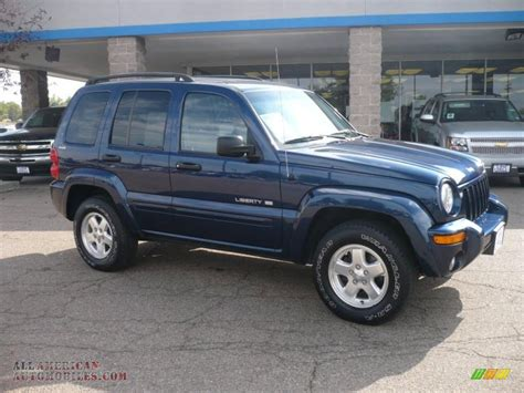 2002 Jeep Liberty Limited 2002 Jeep Liberty Limited 4x4 In Patriot Blue Pearlcoat