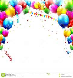 birthday balloons stock photography image 37238062
