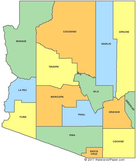printable map arizona printable arizona maps state outline county cities