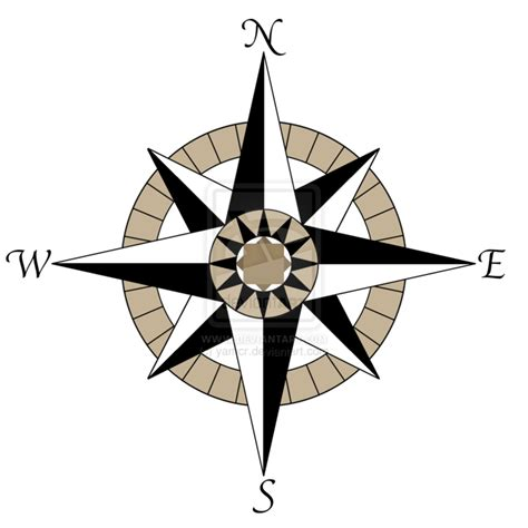 nautical compass rose tattoo compass rose tattoo design by yamcr d51scqa png use