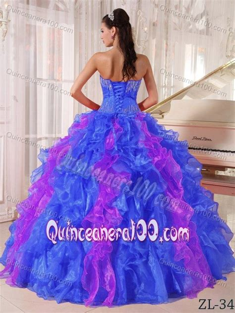 blue and purple quinceanera dresses the best sequins ruffled quinceanera dress in blue and