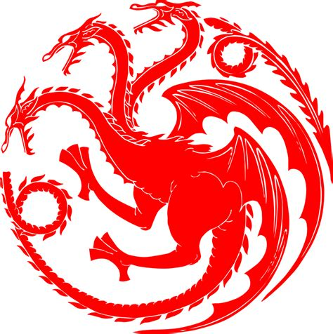 art file targaryen logo readytocut vector art for cnc free