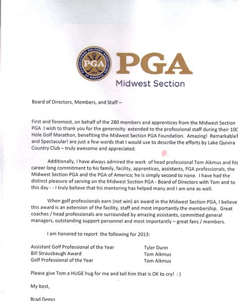 midwest section pga quivira golf professionals sweep awards the quiviran