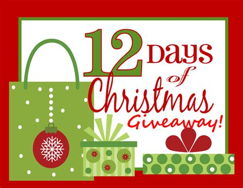 Giveaway Christmas - canadian daily deals 12 days of christmas giveaway winners list
