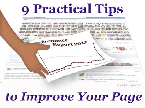 get it together cultural and practical tips to be a successful books 9 practical tips to improve your page performance