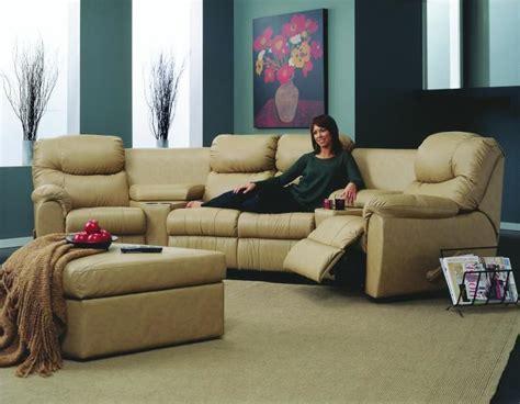 palliser regent reclining sofa palliser regent leather reclining sectional collier s