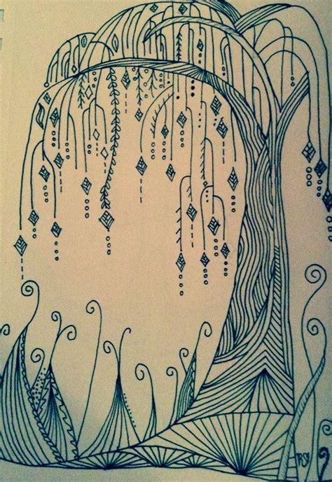 doodle name tina zentangle doodles trees zentangle journaling ideas