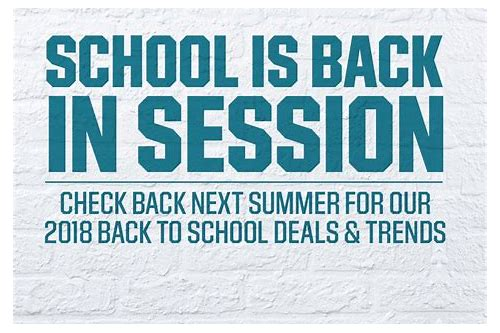 back to school deals 2018 canada
