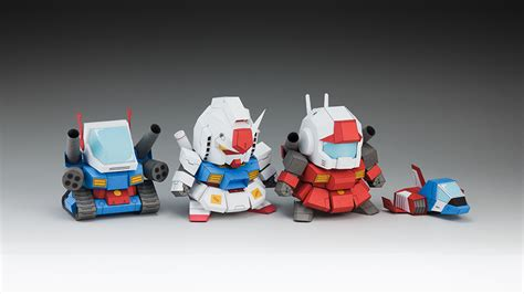 Gundam Paper Craft - papercraft