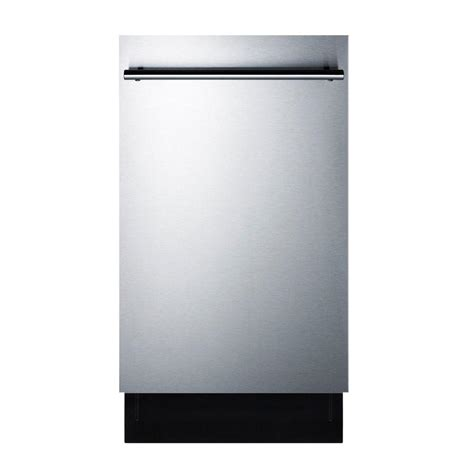 summit appliance 18 in top dishwasher in