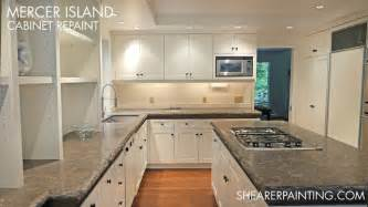 Kitchen Cabinets Seattle by Kitchen Cabinet Painting Mercer Island Wa Traditional