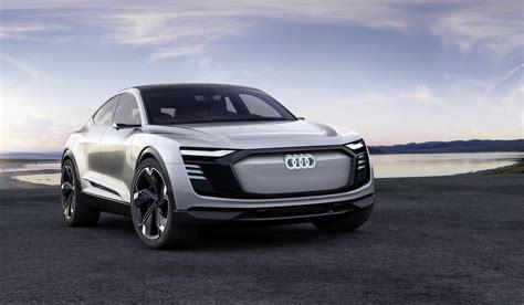 Audi E Tron by Audi Revealed E Tron Sportback Concept