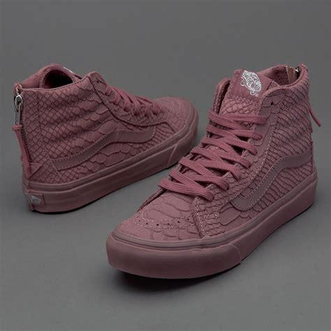 Sepatu Vans Sk8 sepatu sneakers vans womens sk8 hi slim zip dx python