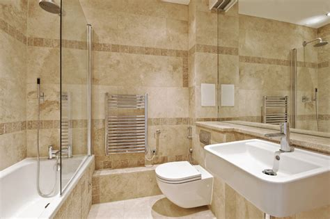 travertine bathroom  royal stone tile