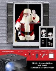 virtual holiday projector kit 386209 | trendyhalloween.com