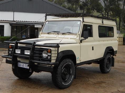 vintage land rover defender 110 1988 land rover defender 110 oneten rhd from south