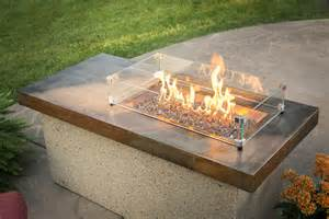 outdoor glass pit poolside pit