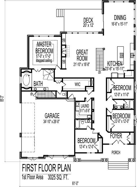3 bedroom ranch bloomington il simple 3 bedroom ranch european cottage house design 3000 sf 4 bedroom 3 bath