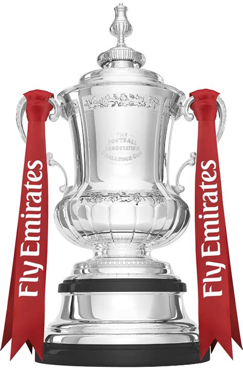 the fa cup trophy 150mm stand alone