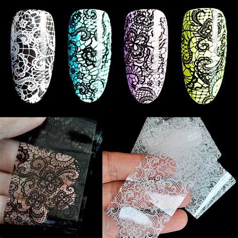 pattern stickers for nails lace pattern nail stickers