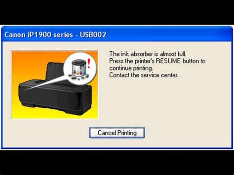reset ip1880 win7 how to fix canon ip 1880 bling 3 times orange mengatas