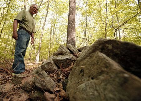 piles of rocks spark an american indian mystery | reuters