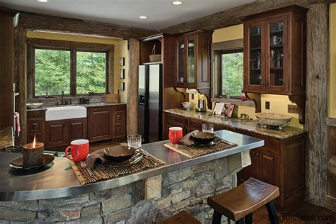 log home kitchens pictures design ideas kitchen